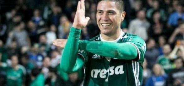 Cristaldo, atacante do Palmeiras