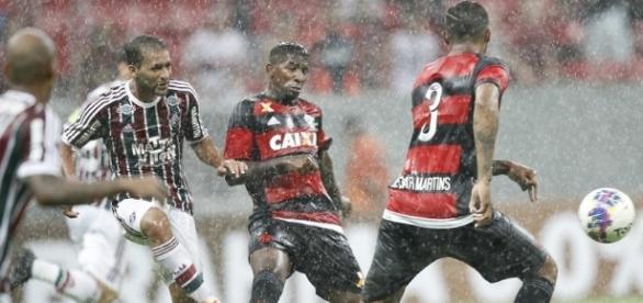 Deu Fluminense no Fla-Flu pelo Brasileirão 2016