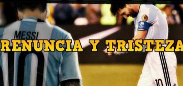 El adiós de Lionel Messi de la selección Argentina.
