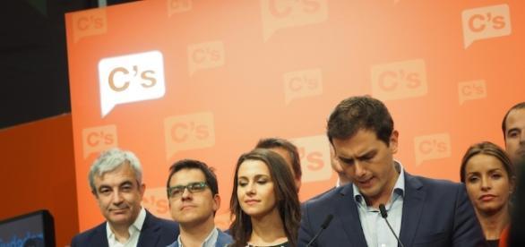 Il leader di Ciudadanos, Albert Rivera
