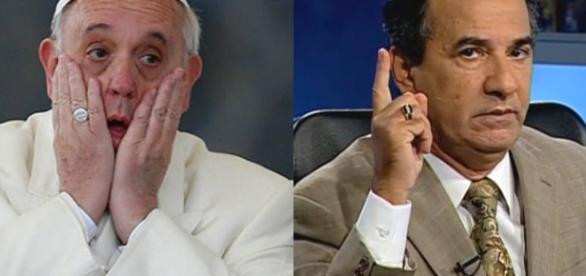 Papa Francisco e Silas Malafaia