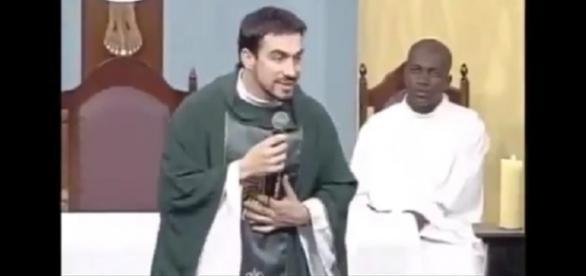 Rapaz publica vídeo do padre Fábio de Melo falando sobre violência doméstica e gera polêmica na internet
