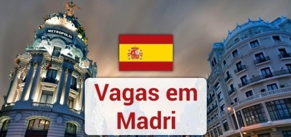 Vagas em Madri. Foto: Reprodução Zastavki.