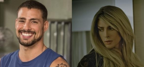 Cauã Reymond dá vida à personagem 'Clara', uma transexual no vídeo clipe 'Your armies'.