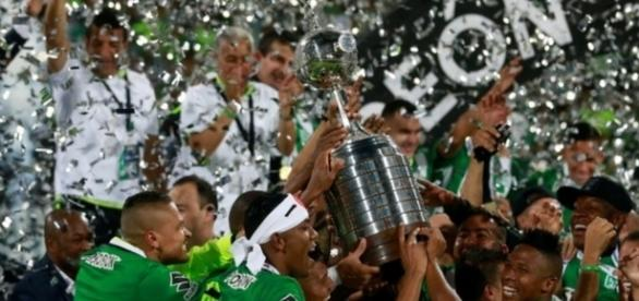 Colombianos comemoram bicampeonato da Libertadores