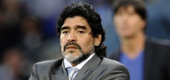 Diego Armando Maradona, ex-craque da Seleção Argentina