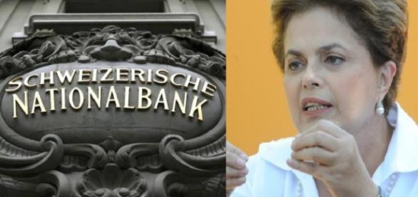 Dilma Rousseff e a polêmica conta na Suíça