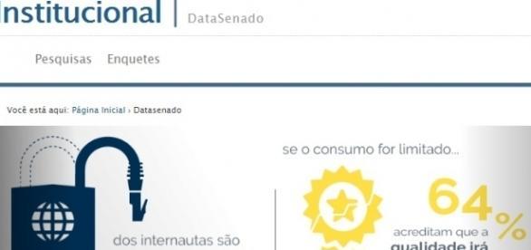 Reprodução/Portal do Senado Federal