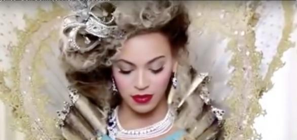 "Screen capture of Beyonce from her video ""Bow Down."" Beyonce Knowles/YouTube"