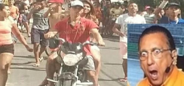 Bandidos fazem passeata polêmica no Nordeste