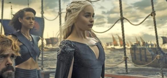 Daenerys e seus aliados deixam Meereen (Foto: HBO)