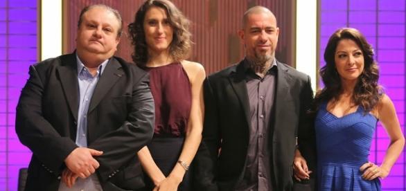 Erick Jacquin, Paola, Fogaça e Ana Paula Padrão: quarteto fantástico