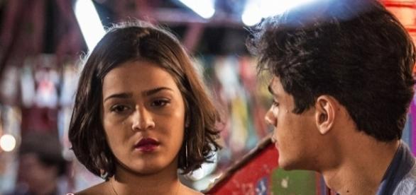 Olívia não gosta de ser vista seminua (Divulgação/Globo)