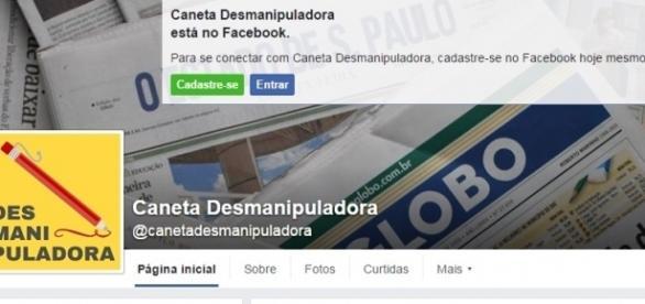 Reprodução/ Caneta Desmanipuladora on Facebook