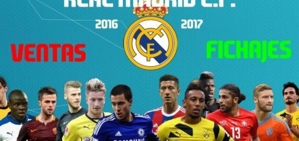 Venta y Fichajes del Real Madrid