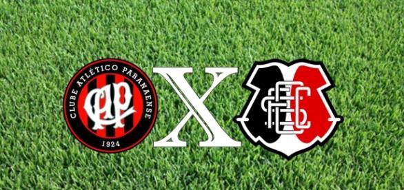 Atlético-PR e Santa Cruz se enfrentam neste sábado (4)