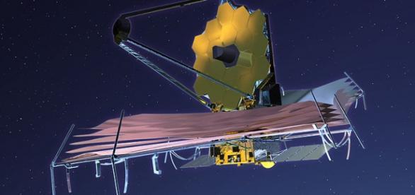 By NASA JWST public domain via Wikimedia Commons