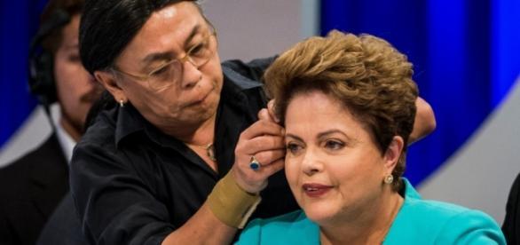 Celso Kamura e Dilma Rousseff - Foto/Divulgação