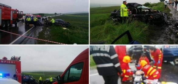 Grav accident vineri în judeţul Cluj