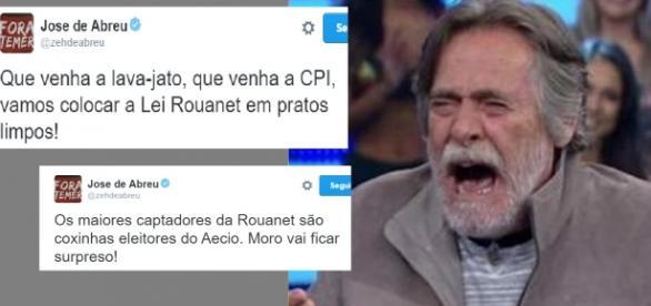 José de Abreu comenta CPI da Lei Rouanet