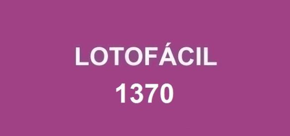 Resultado da Lotofácil 1370; Jogadores em todo o país concorrem a R$ 1,7 milhão.