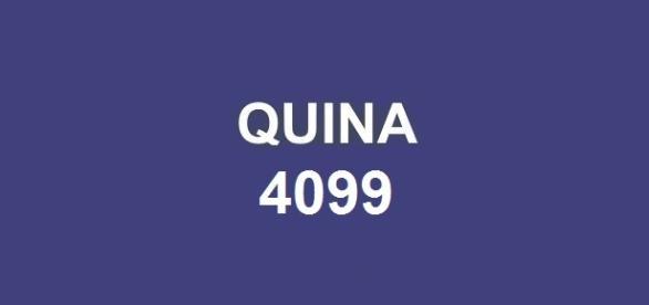 Resultado da Quina 4099, divulgado nessa quinta-feira, dia 2.