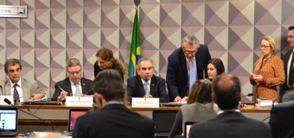 Reunião de comissão do Impeachment
