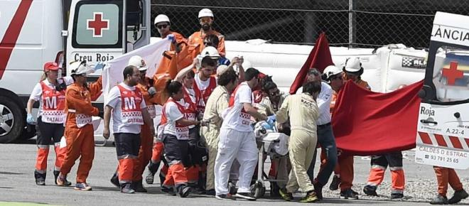 Tragedia en el Circuit de Montmeló