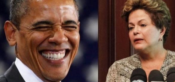 Barack Obama e Dilma Rousseff - Foto/Montagem