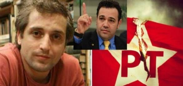 Duvivier e Marco Feliciano brigam pelo PT