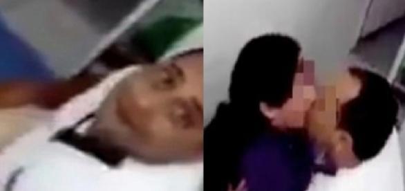 Médico é flagrado fazendo sexo com paciente