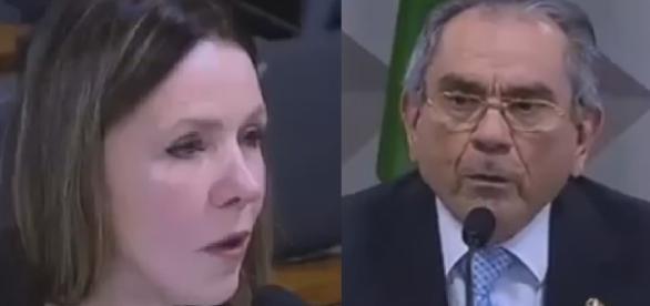 Vanessa Graziotin e Raimundo Lira
