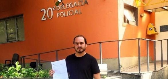 Vereador Carlos Bolsonaro (Foto: Reprodução/Facebook Carlos Bolsonaro)