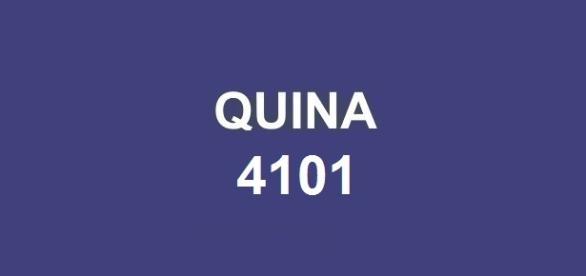 Concurso Quina 4101, com prêmio estimado em mais de R$ 4 milhões.