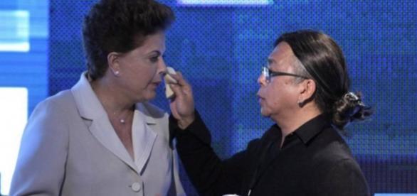 Dilma e Celso Kamura - Imagem/Divulgação