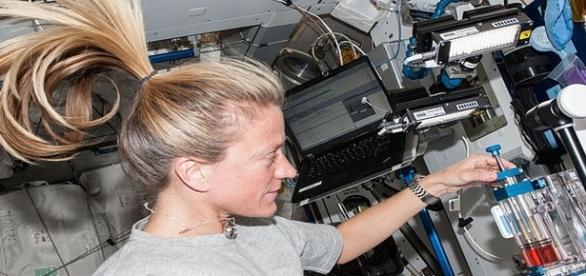 Kate irá ao espaço analisar a influência desse ambiente no DNA