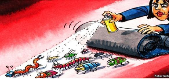 Laura Kovesi, caricaturizată în The Economist!