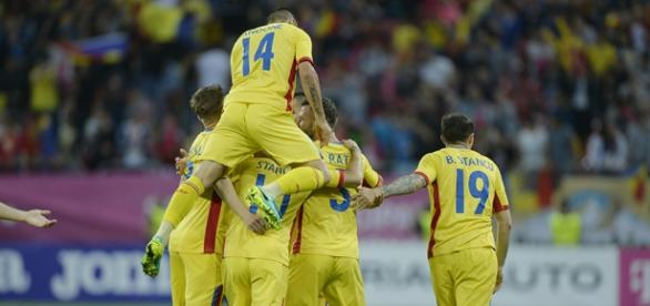 Naţionala României a învins categoric Georgia foto frf.ro