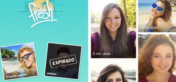 O app exige que o usuário atualiza sua foto de perfil todos os dias, não permitindo qualquer edição na imagem.