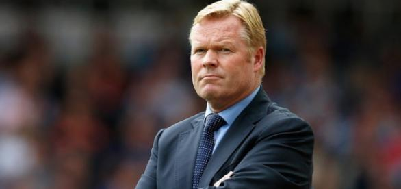 O novo treinador do Everton, Ronald Koeman