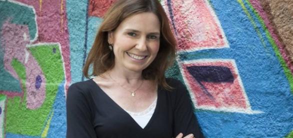 Repórter da Globo, Susana Naspolini luta contra um tumor na mama (Fonte: Extra On-Line)