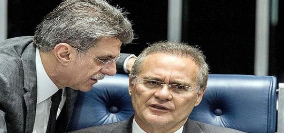 Romero Jucá e Renan Calheiros estão entre os citados por Sérgio Machado em nova delação (Fonte: Folhapress)