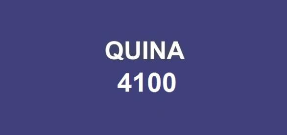 Sorteio do prêmio milionário da Quina 4100.