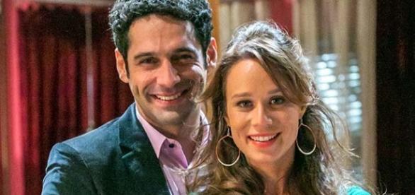 João Baldasserini e Mariana Ximenes (Foto: Paulo Belote/Globo)