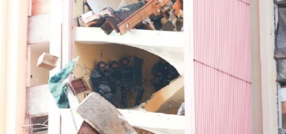 Polícia desocupa prédio no Distrito Federal