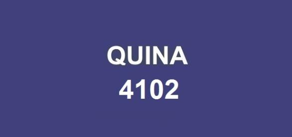 Sorteio milionário no concurso Quina 4102 de segunda-feira (6).
