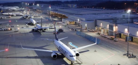 Aeroportul Frankfurt Hahn. Foto: swr.de