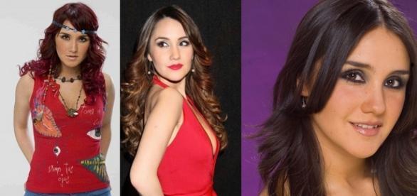 """Além de """"Rebelde"""", Dulce Maria foi atriz principal em outras três novelas mexicanas."""