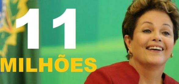 Dilma teria repassado valor alto a blogs