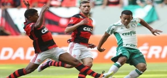 Flamengo 1x2 Palmeiras: fracasso de audiência na TV (Foto: Cesar Greco/Agência Palmeiras)